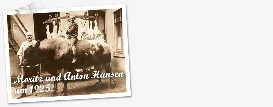 Fleischwaren seit 1904.